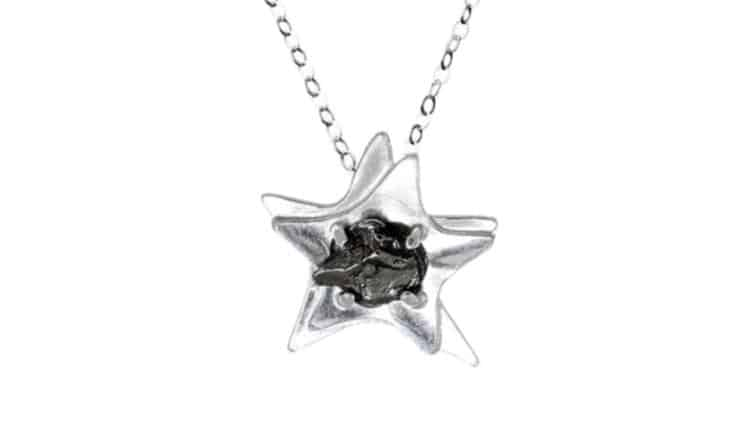 Written in the Stars Meteorite Necklace
