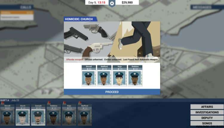 A gameplay screenshot from This Is the Police