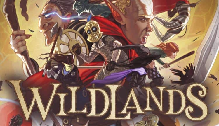 Wildlands board game concept art