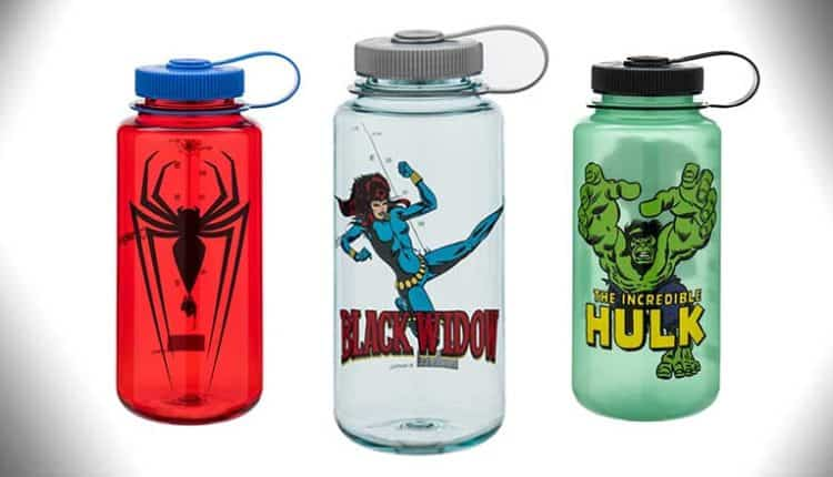 Spider-Man Nalgene 32oz Bottom