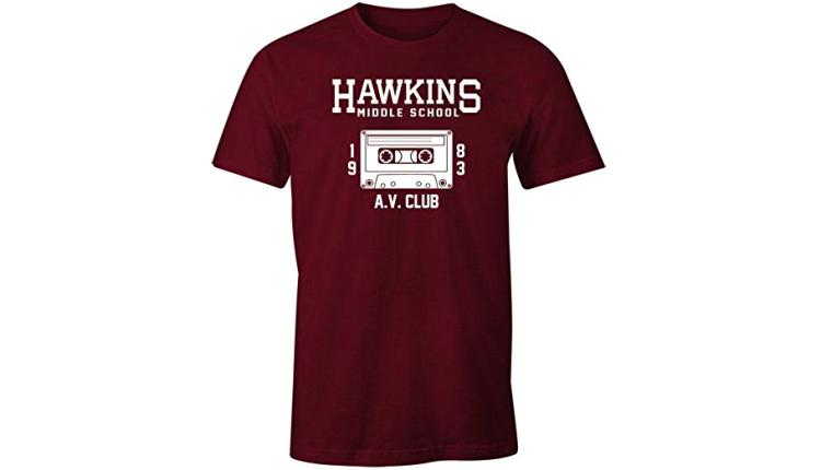 Hawkins AV Club Men's Tee