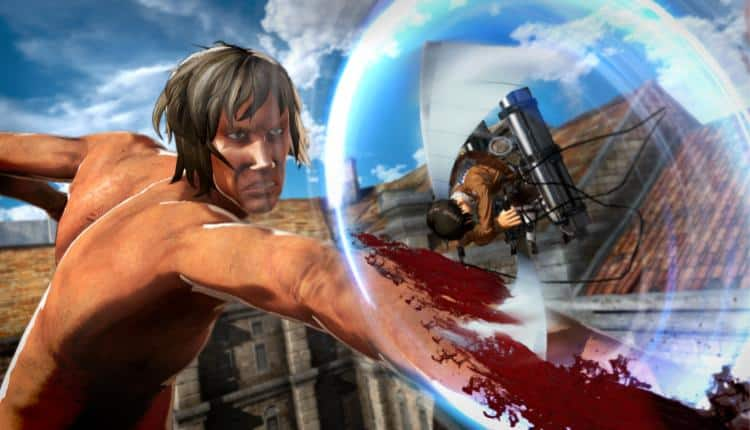 Promotional image for Attack on Titan 2 gameplay