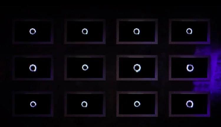 A screenshot of the teaser trailer for Black Mirror season 5
