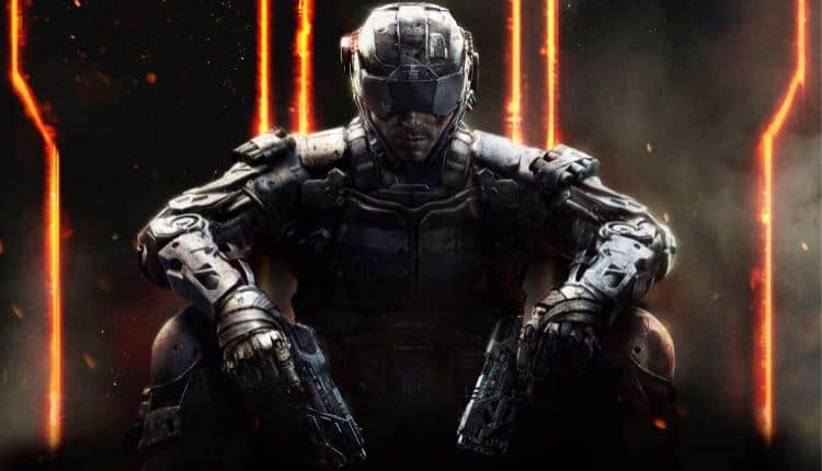 Front cover promotional image for Black Ops 3