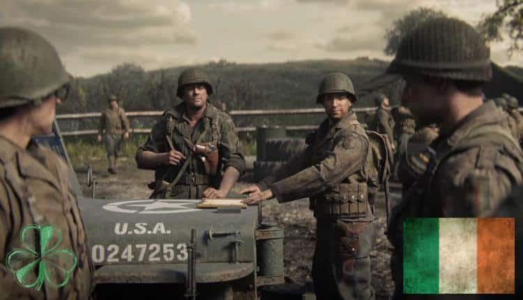 A screenshot of Call of Duty WWII gameplay