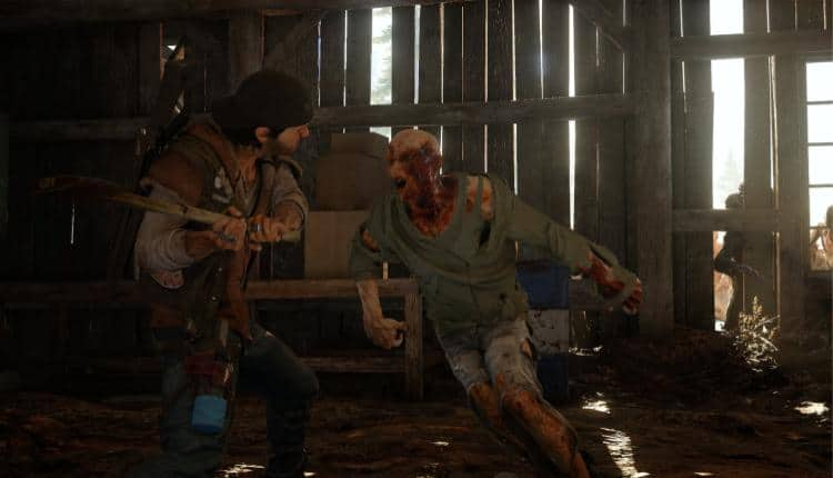 A screenshot of Days Gone gameplay