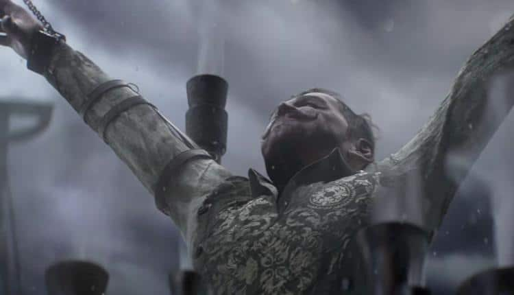 A screenshot from the release date announcement trailer for Frostpunk