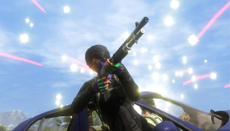 A promotional image of H1Z1 Auto royale gameplay