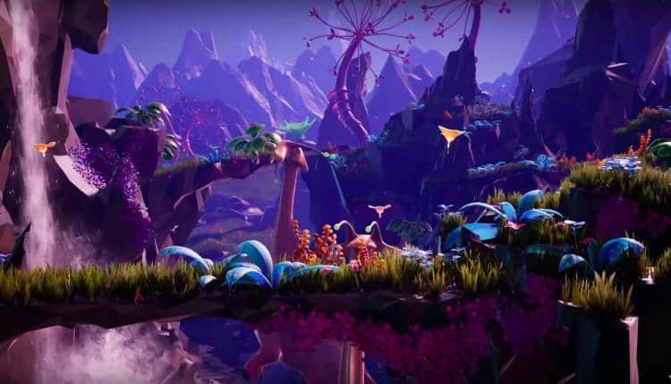 A screenshot of Planet Alpha gameplay