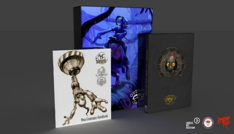 Oddworld: Abe's Origins, a Kickstarter featuring a hardcover book and the two original games, hit its funding goals in under 48 hours.