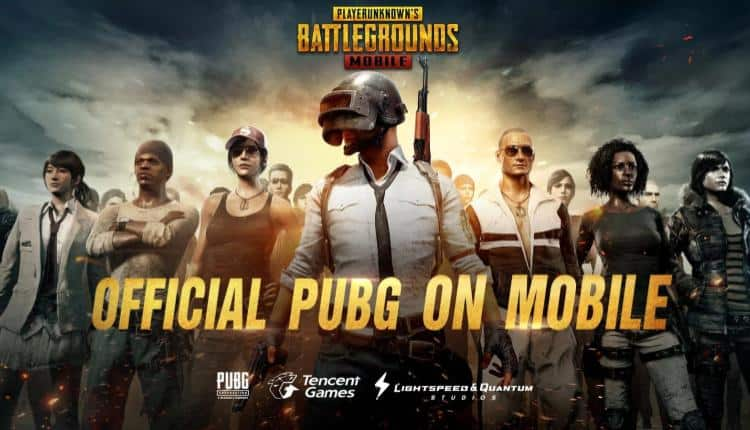 A promotional image for PUBG mobile