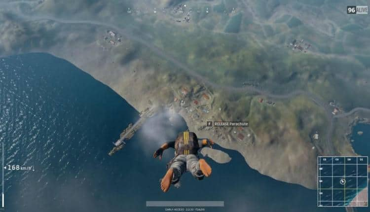 a screenshot of gameplay from PUBG