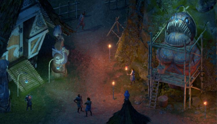 A screenshot of Pillars of Eternity II Deadfire gameplay