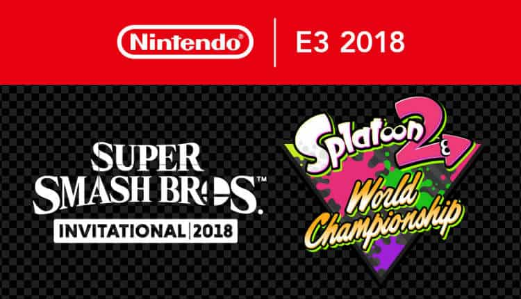 The Super Smash Bros. Invitational and the Splatoon 2 World Championships will begin on June 11th in Los Angeles, California.