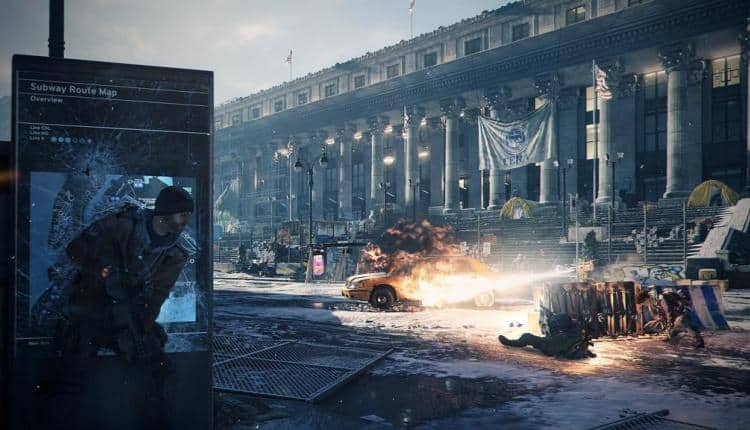 A screenshot of Tom Clancy's The Division gameplay