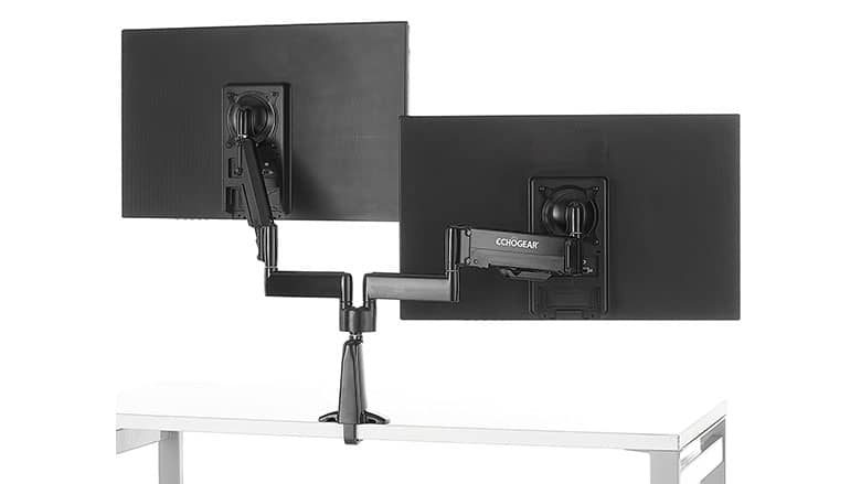 echogear dual monitor mount