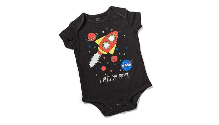 Infant NASA Need my Space onesie