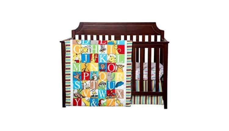 Dr. Seuss 3-Piece Crib Set