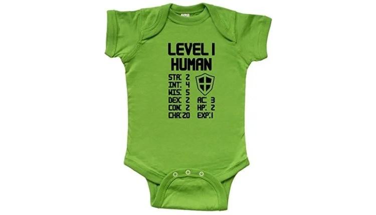 Level 1 Human Infant Onesie