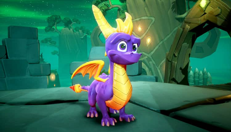 Spyro's rebooted design in The Spyro: Reignited Trilogy.