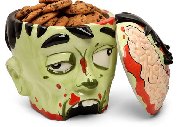 Zombie Head Cookie Jar – $24.99