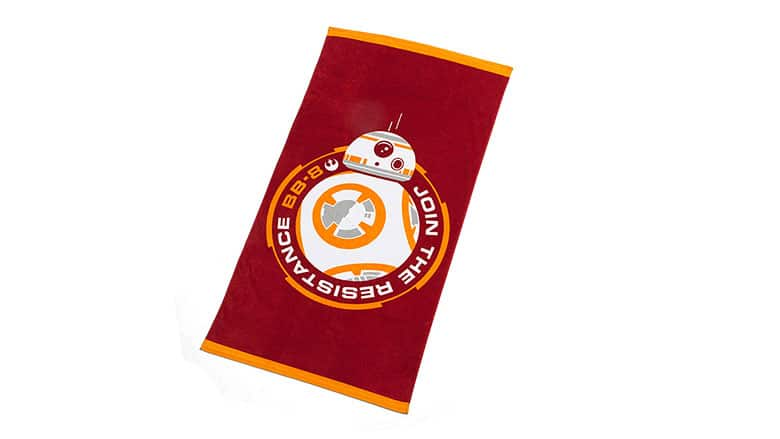 3. BB-8 Beach Towel
