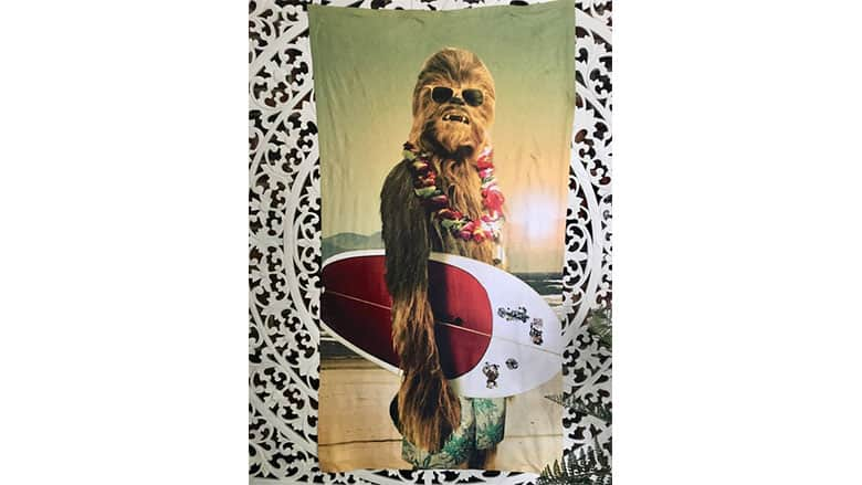 21. Chewbacca Beach Towel