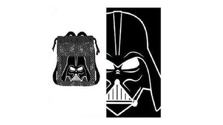 5. Darth Vader Beach Towel Set