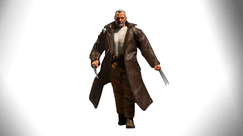 old man logan 1/12 scale figure