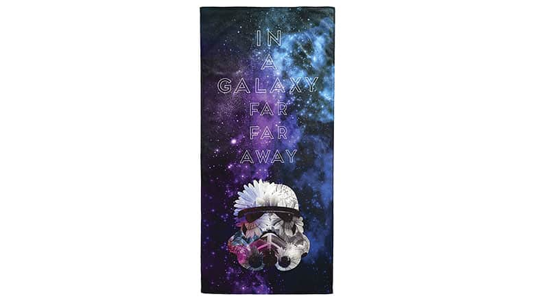 4. Star Wars Galaxy Far Away Beach Towel