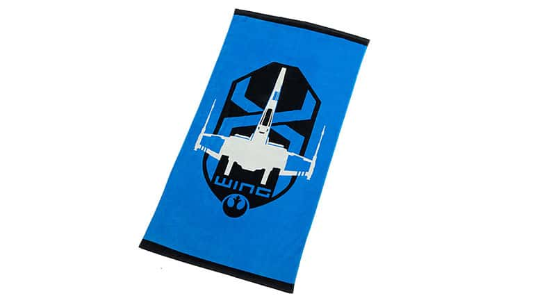 2. X-Wing Beach Towel