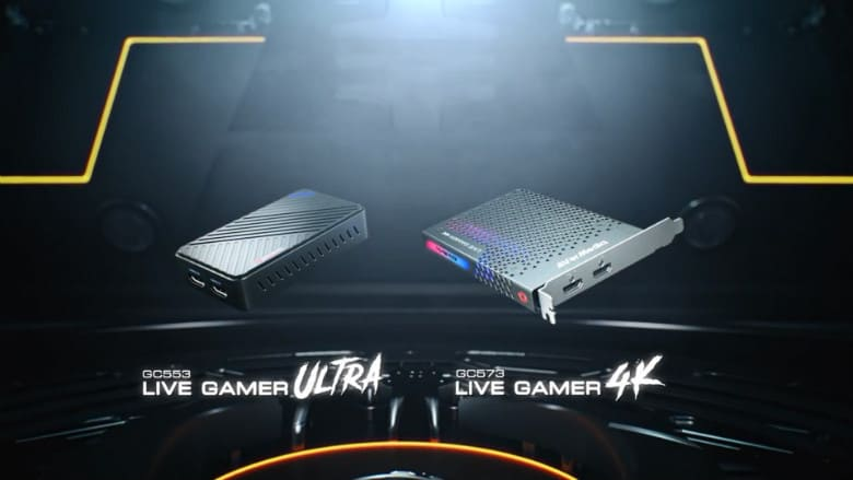 Live Gamer 4K UHD Capture Cards
