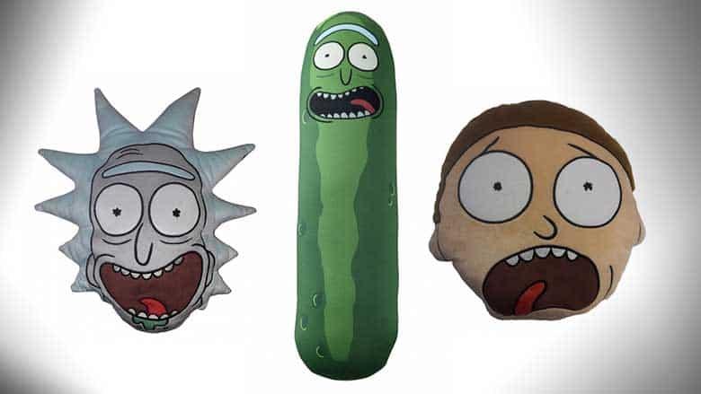 Rick and Morty Cushions