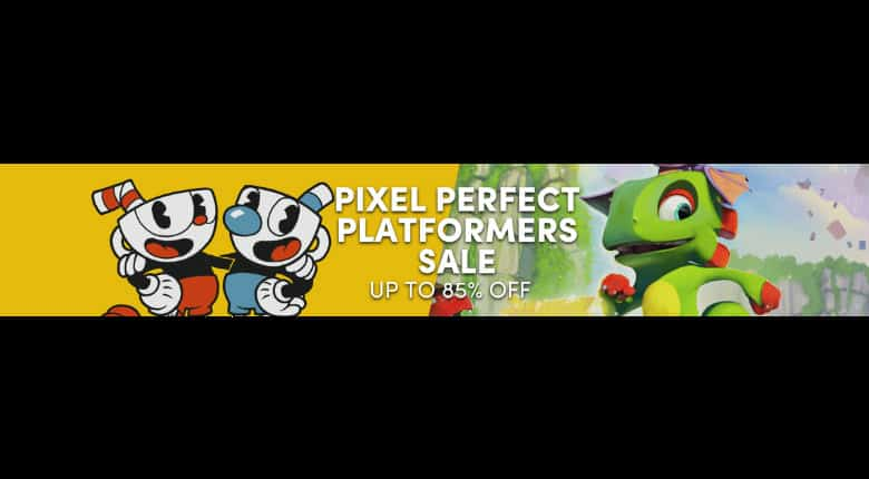 Humble Pixel Perfect Platformer Sale
