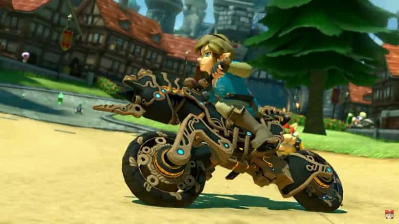 Mario Kart 8 Deluxe Breath of the Wild Update