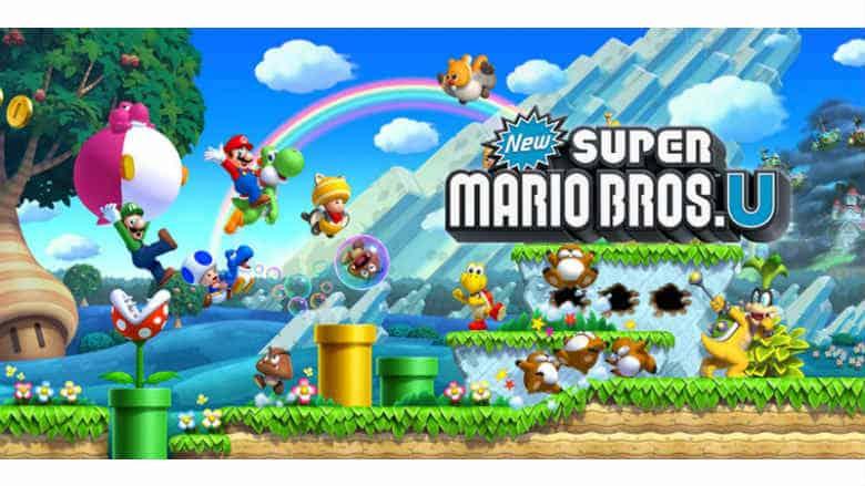 New Super Mario Bros. U Switch version