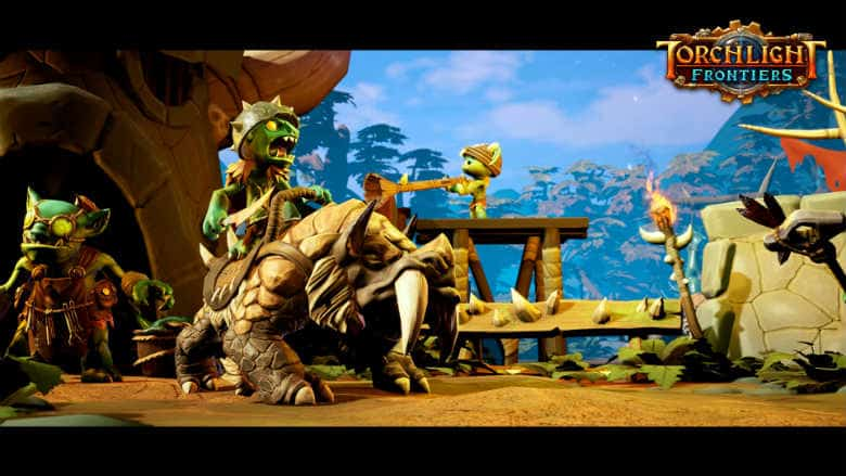 Torchlight Frontiers gameplay