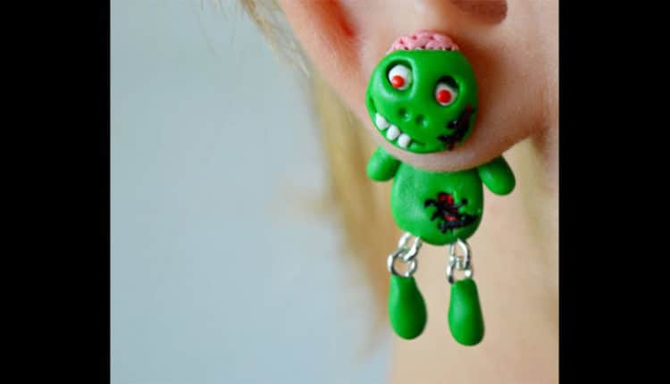 Cute Zombie Earrings