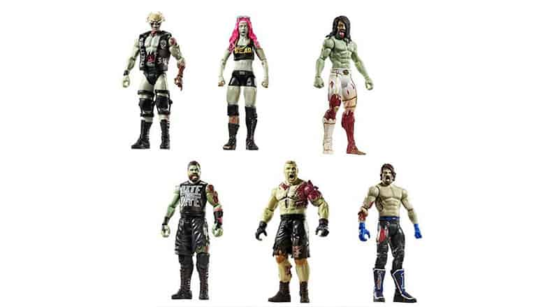 WWE Zombies Superstars Action Figures