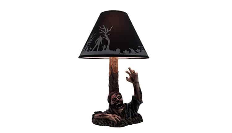 zombie resin lamp