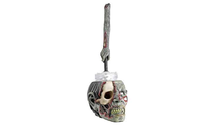 zombie toilet brush set