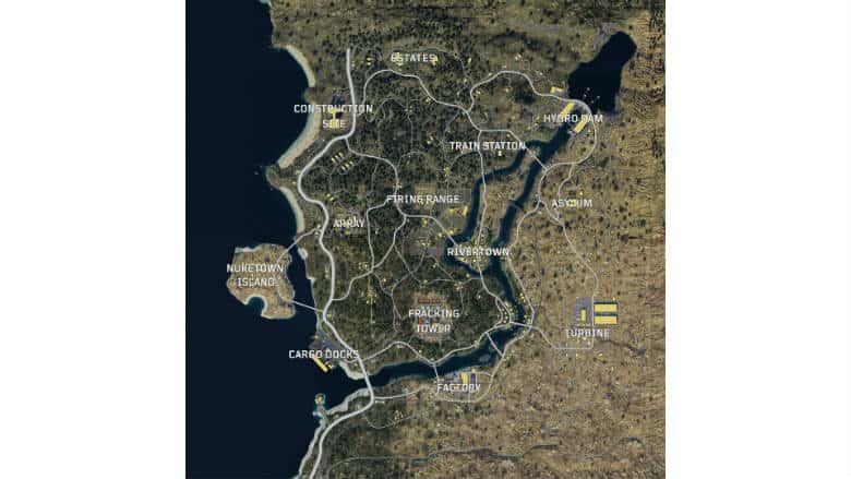 Black Ops 4 Blackout Map