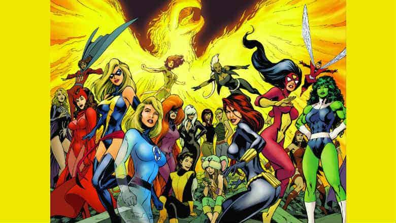 Female led Marvel series