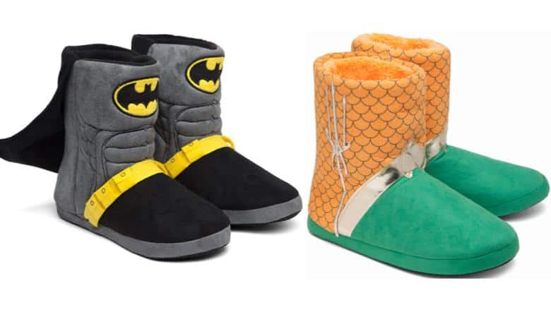 New Batman and Aquaman Slippers Available Now
