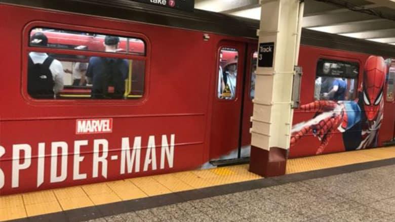 spider-man ps4 marketing