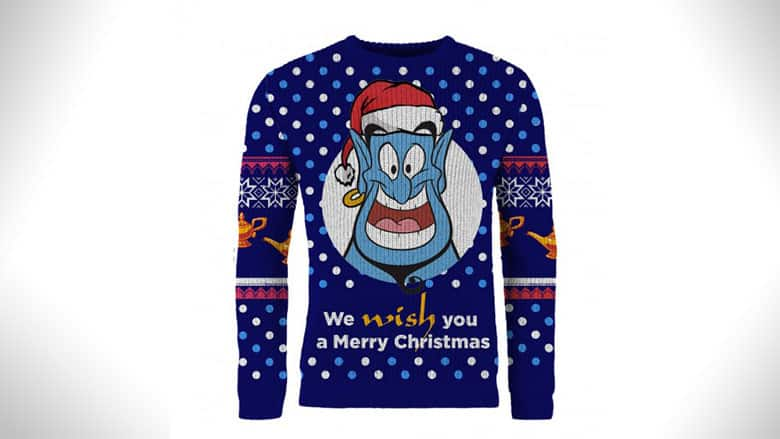 Aladdin Genie Christmas Sweater
