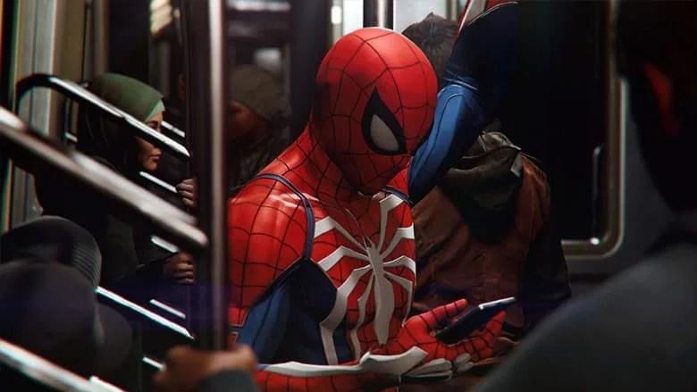 spider-man texting