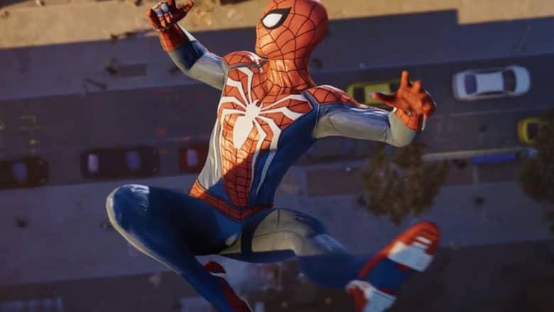 Spider-Man ps4 suit
