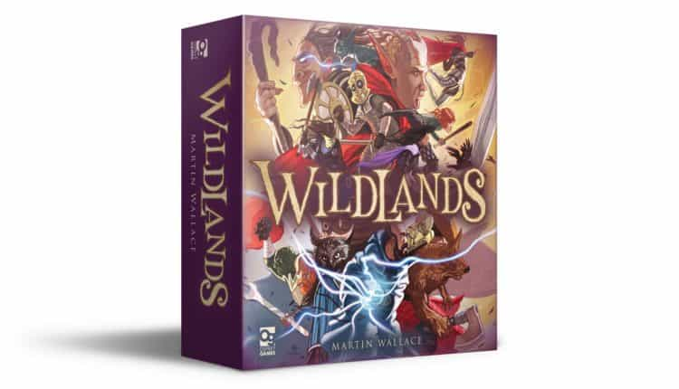 Wildlands Board Game 7080