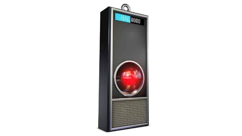 2001 HAL 9000 Christmas Ornament
